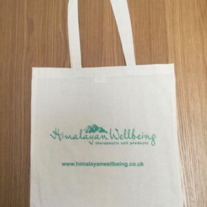 Himalayan Salt Lamp UK tote bag